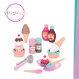 【美國B.Toys感統玩具】甜蜜蜜霜淇淋 PlayCiRcle系列
