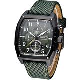 ALBA WIRED 軍風設計 計時腕錶 7T92-X259G AF8S71X1