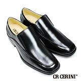 【CR Cerini】超輕量U-Tip方頭樂福紳士鞋(38951-BL)