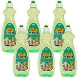 康潔 超值6瓶組茶樹油洗潔精600ml