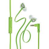 Genius HS-M250 抗噪耳道式手機專用耳機麥克風(綠)