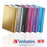 Verbatim威寶 2.1A 5000mAh 超薄型Slim 鋁合金殼 行動電源 (6色)