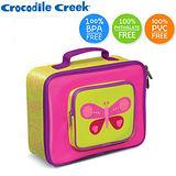 【美國Crocodile Creek】兒童保溫餐袋(美麗蝴蝶)