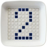 《Sceltevie》馬賽克拼貼置物盒(白)