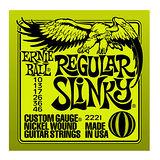 【Ernie Ball】老鷹牌 電吉他弦 獨立包裝-鎳弦 暢銷琴弦(2221)