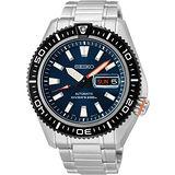 SEIKO Mechanical 怒海潛將200米機械腕錶-藍 4R36-02Z0B