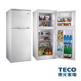 TECO東元 130公升雙門冰箱(R1302W)