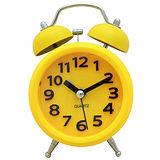 馬卡龍 復古數字圓型鬧鐘SV-1306