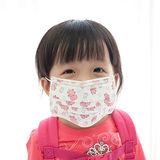 【PS Mall】兒童平面防塵/保護喉嚨口罩 1包50入 (J871)