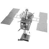 《 Tenyo 》金屬微型模型拼圖 TMN-12 小行星探測器
