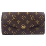 Louis Vuitton LV M60531 新版熱銷款經典花紋扣式長夾 預購