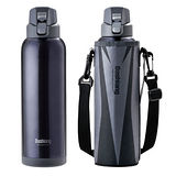 【Dashiang】真水彈蓋式保冷瓶1000ml(附瓶套)