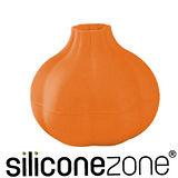 【Siliconezone】施理康不沾手便利矽膠蒜頭剝皮器-橘色