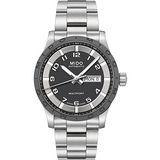 MIDO Multifort 先鋒系列時尚機械腕錶-灰x銀 M0184301106200