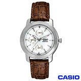 【CASIO卡西歐】經典時尚指針皮帶男錶 MTP-1192E-7A
