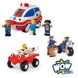 英國【WOW Toys 驚奇玩具】紅色警戒組