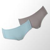 【蕾黛絲】伴你一生(竹纖維)棉褲二件包(中腰)M-EL 藍/膚