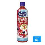 優鮮沛蔓越莓綜合果汁500ml*4入