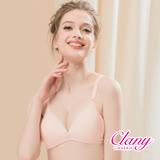 【可蘭霓Clany】低敏絲蛋白深V無鋼圈AB內衣 甜蜜粉 6917-31