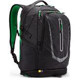 美國Caselogic 15吋MacBook®或15.6吋筆記電腦+10吋平板電腦後背包BOGP-115黑色