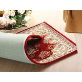 【范登伯格】春之戀歐式高檔雙線棉加絲純棉踏毯地毯-50X80cm