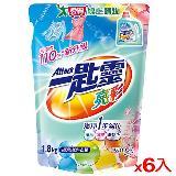 一匙靈超濃縮洗衣精補充包-亮彩1.8L*6(箱)