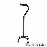 【舞動創意】仲群維醫療用手杖(未滅菌)-鋁合金四腳拐助行器手杖- GT40021