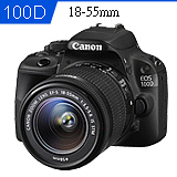 Canon EOS 100D+18-55mm STM (中文平輸).-送32GC10記憶卡+相機包+保護鏡(58)+大吹球+拭鏡筆+拭鏡布+保護貼