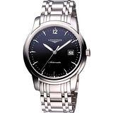 LONGINES Saint-Imier 經典復刻腕錶-藍/銀 L27664526