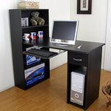 【環球】大型60深x120寬/公分-抽屜型4層置物櫃-電腦桌(附鍵盤抽)-二色可選