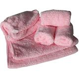 【美之纖】密絨禮盒(浴帽X1+毛巾X2+方巾X3)