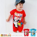 魔法Baby~連身衣~嬰幼兒短袖包屁衣~嬰兒服~k35117