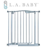 L.A BABY 雙向自動回彈上鎖幼兒安全門欄