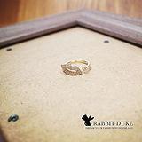 【Rabbit Duke】經典歐美風格 個性可愛性感嘴唇印設計戒指