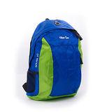 DLOOSE TEAM 戶外雙色輕便登山後背包 藍綠-- DL2025NG