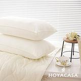 《HOYACASA》獨立筒枕頭(3M布彈力舒柔枕) 二入