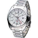 Orient Star GMT 動力存儲機械腕錶 SDJ00002W