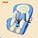 新生兒/成長型6段式坐臥兩用兒童汽車安全座椅 藍色