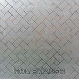 【Homemaker】菱格素面-靜電窗貼 (RN-TM177-001A)