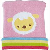 優生喜羊羊彈性嬰兒帽(藍/粉)
