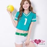 【天使霓裳】No.1女孩 啦啦隊 角色扮演服(綠)
