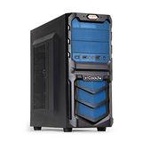 i-COOLTW 機械先驅 V6 黑藍色 電腦機殼