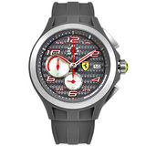 SCUDERIA FERRARI SF102 Lap Time 法拉利榮光征途三眼計時腕錶(灰/44mm) FA0830076