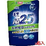毛寶天然植物洗衣精補充包2L*6(箱)