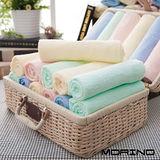 【MORINO摩力諾】素色毛巾(4條組)