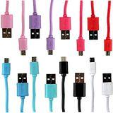 KooPin 繽紛馬卡龍傳輸充電線(Micro USB)