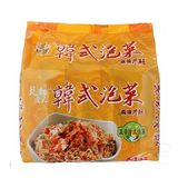 味王乾麵達人韓式泡菜風味拌麵90g*5包/組
