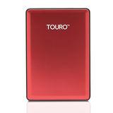 HGST優雅多彩高速硬碟2.5吋 7200轉-1TB TOURO S- 紅