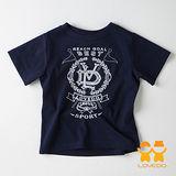 【LOVEDO-艾唯多童裝】運動潮流 皇家守衛短袖T恤