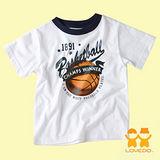 【LOVEDO-艾唯多童裝】運動潮流 籃球火短袖T恤